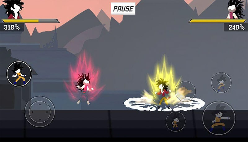 تحميل لعبة الاكشن Stick Shadow: War Fight للاندرويد