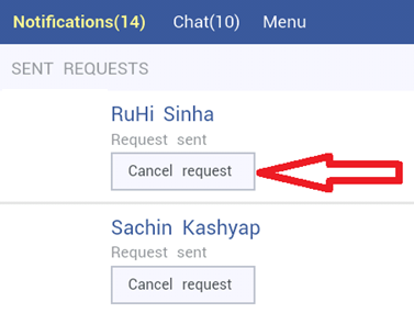 Cancel Request