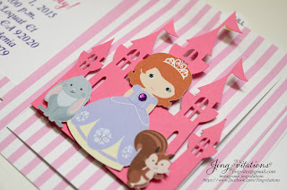 sofia the first invites invitacion