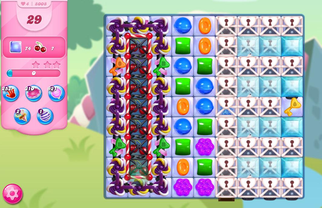 Candy Crush Saga level 8008