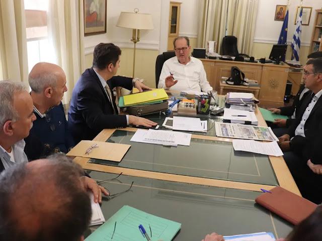 Σύσκεψη στο Ναύπλιο για τις οφειλές των ΓΟΕΒ – ΤΟΕΒ της Αργολίδας