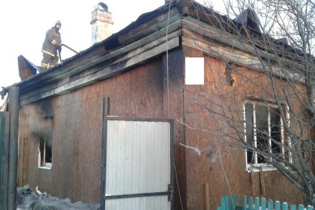 Многодетный отец поджег дом со своей семьей после ссоры!