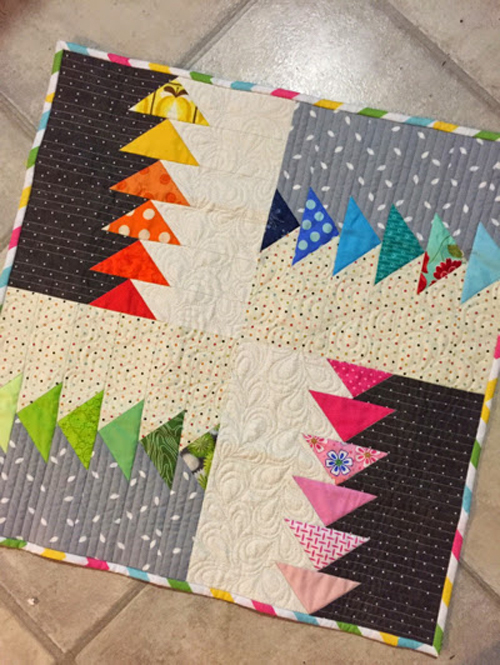 Make A Mini Quilt - Tutorial
