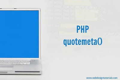 PHP quotemeta() Function