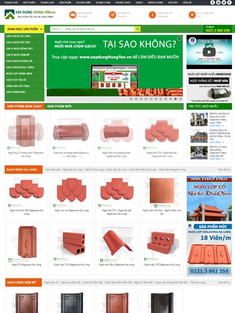 Website Xây dựng Hưng Yên - Ảnh 1