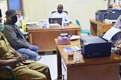 Bhabinkamtibmas Polsek Curio bersama Babinsa Bahas Persiapan Pembentukan Kampung Tangguh