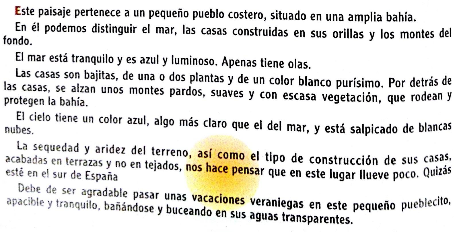 Descripcion De Un Paisaje En Ingles Ejemplos Colección De Ejemplo