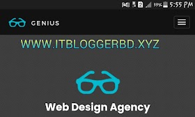 জিনয়াস এর অসাধারণ একটি টেমপ্লেট ডাউনলোড করে নিন আইটি ব্লগার বিডির সৌজন্যে। (How To Download Awesome Template in my website)