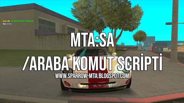 MTA SA /Araba Komutu Script