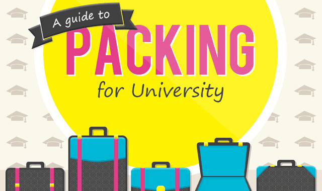Image: A Guide to Packing for University