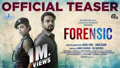Forensic 2020 Hindi Dubbed Malayalam Movies Free Download 480p