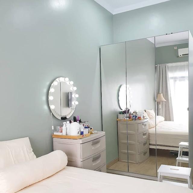 Desain Kamar Tidur Ukuran 3×3 dengan Furnitur Multifungsi