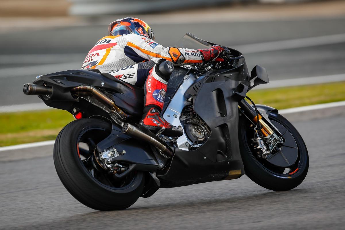 Honda uji coba motor Prototype di test MotoGP Jerez 2021