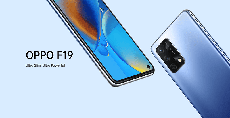 OPPO F19 with AMOLED screen, SD662, and 48MP cam announced
