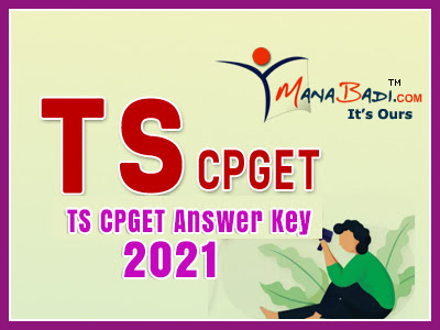 ts cpget Answer Key 2021 Download