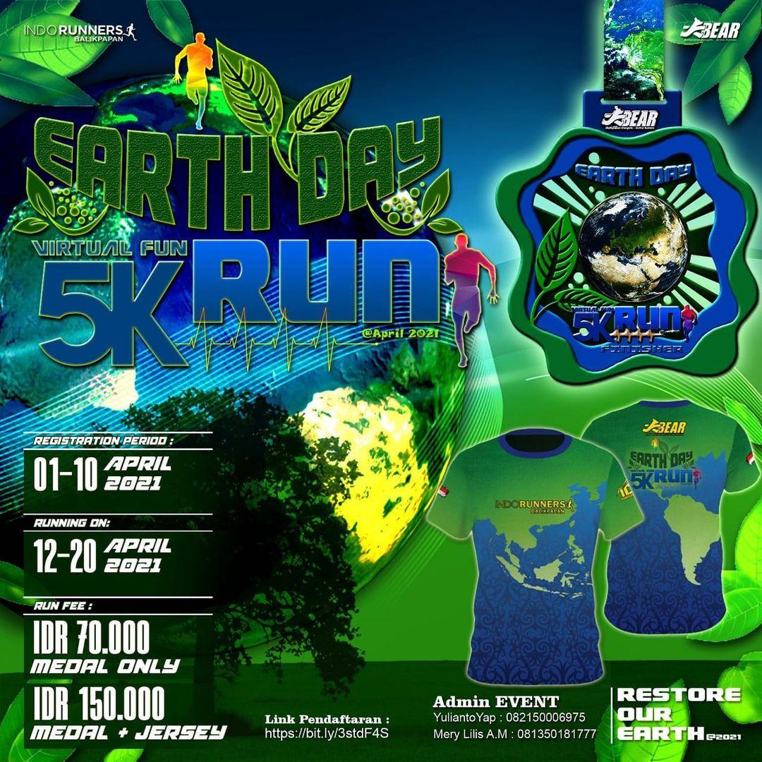 Earth Day Virtual Run • 2021