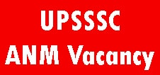 UPSSSC ANM Recruitment
