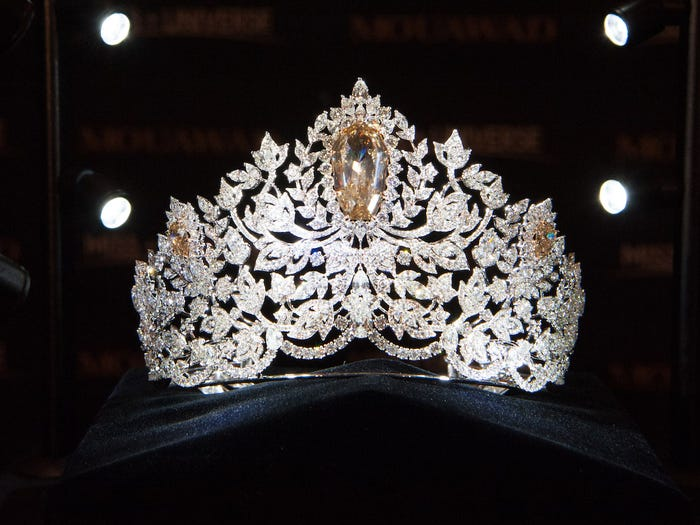 """This year's crown is called """"Power of Unity."""""""