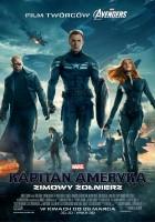 """plakat filmu """"kapitan ameryka: zimowy żołnierz"""""""