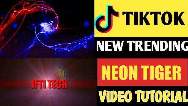 How To Create Tiktok Light Name Video