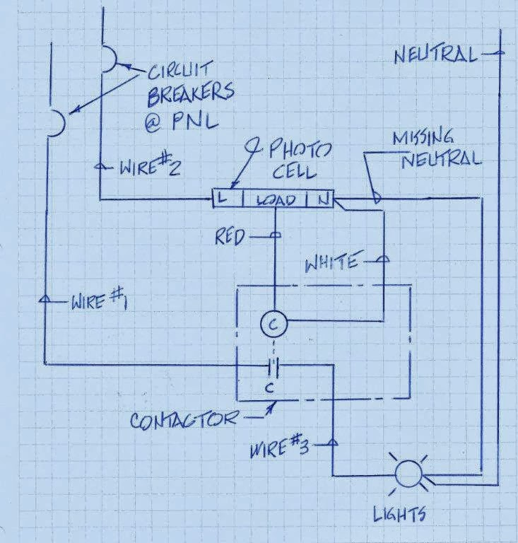 lighting contactor with photocell wiring schematic building services #13