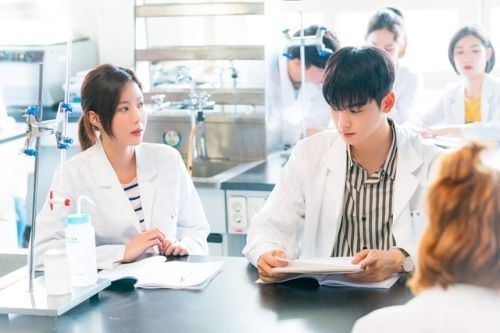 Im Soo-hyang dan Cha Eunwoo ASTRO