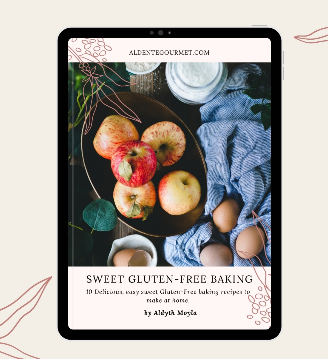 New eCookbook! 10+ Delcious Sweet Gluten-Free Baking Recipes. Read more & order @ the shop!