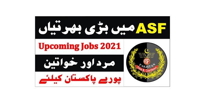 ASF Jobs 2021 - ASF Upcoming Jobs 2021