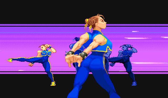Chun-Li in Street Fighter Alpha