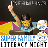 https://www.teacherspayteachers.com/Product/Superhero-Family-Literacy-Night-in-English-and-Spanish-The-Editable-Bundle-4844551