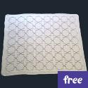 Arabesque Baby Blanket (free)