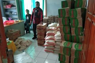 Pemerintah Desa Talabiu Terima 100 Paket Sembako Bima Ramah Tahap-2