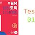 Listening YBM Practice TOEIC LC 1000 - Test 01