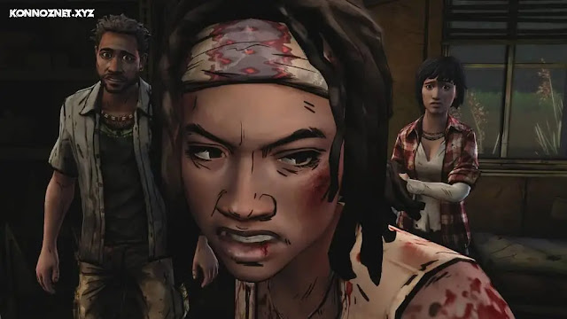 لعبة The Walking Dead Michonne