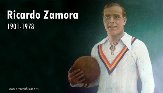 """Ricardo Zamora, """"El divino"""""""