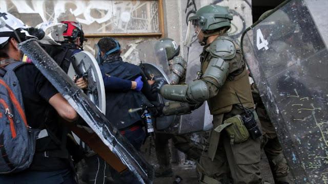 UE expresa su preocupación por la represión policial en Chile