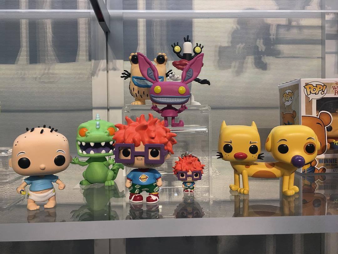 Real Toys Of 2017 : Nickalive first look at funko s new nickelodeon pop