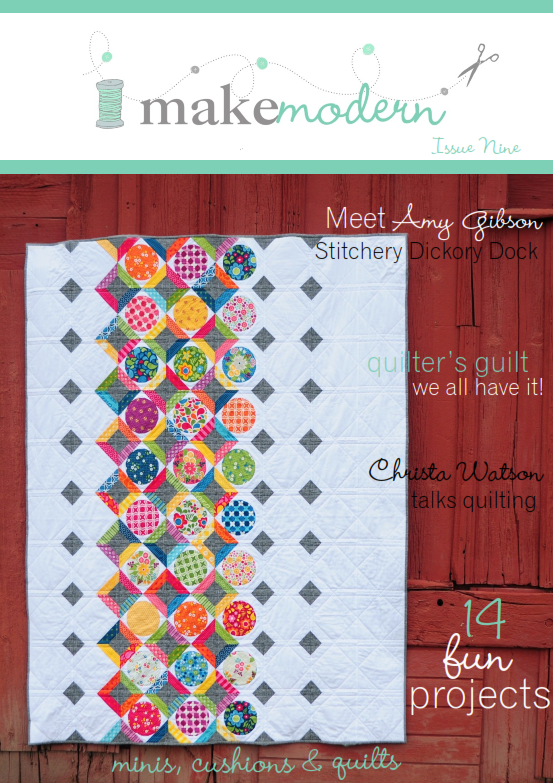 Make Modern Issue Nine Cover - Locked in Spots