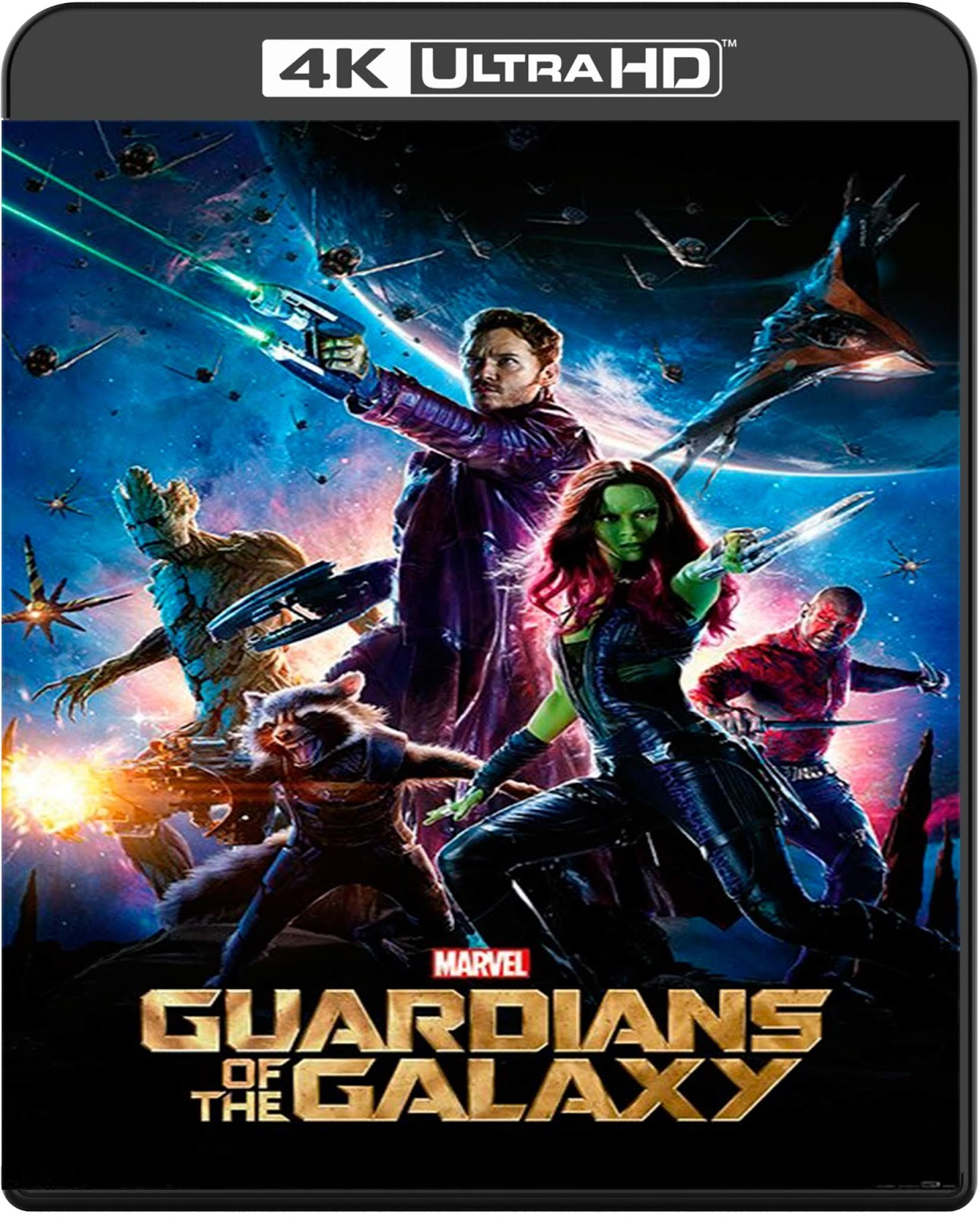 Guardians of the Galaxy [2014] [UHD] [2160p] [Latino]