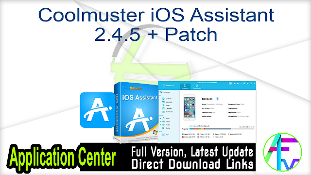 Coolmuster iOS Assistant 2.4.5 + Patch