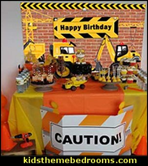 Dump Truck Birthday Background Cake Table   Construction Birthday Backdrop Construction Party Photo Background 7x5ft Dump Truck Birthday Background