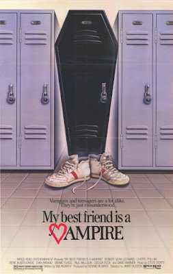 My Best Friend Is a Vampire Poster