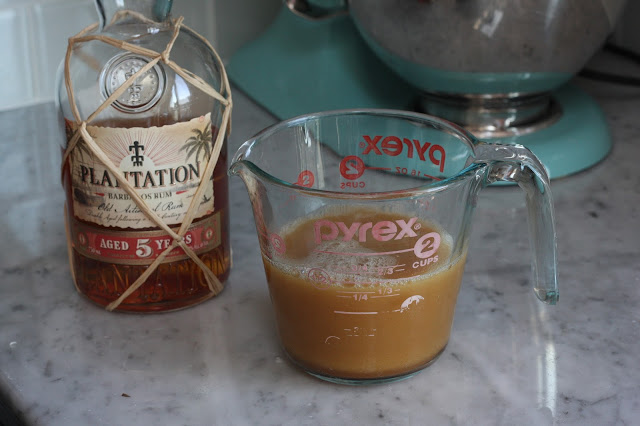 Brown Butter Washed Rum