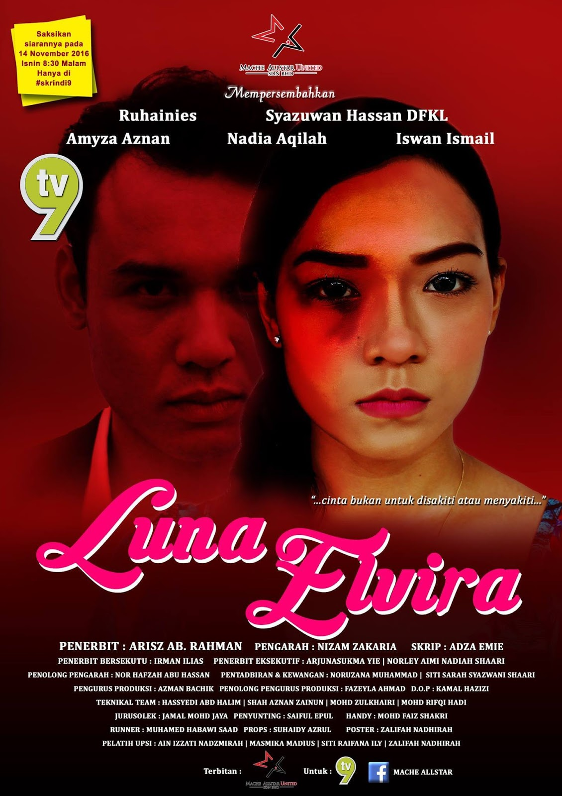 Luna Elvira TV9
