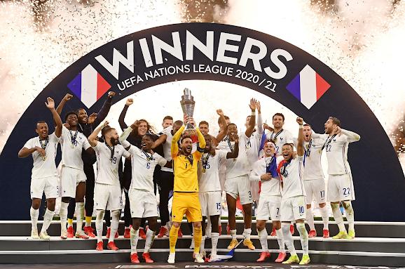 Perancis, Juara Nation League 2021