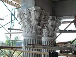 Ornament Kepala Pilar