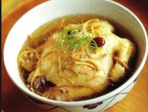 chế biến gà hầm nấm linh chi