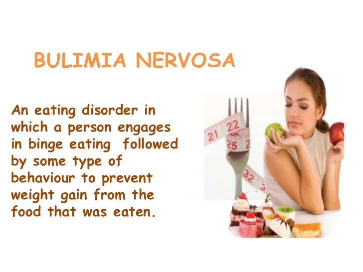 analysis of the eating disorder bulimia nervosa The nature and extent of body-image disturbances in anorexia nervosa and bulimia nervosa: a meta-analysis of extant research on body image and eating disorders.
