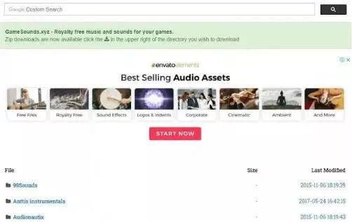 Situs Terbaik Download Sound Effect Bebas Royalti-4