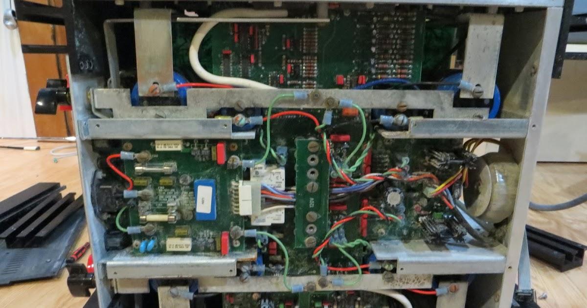 PlayAgainAudio: Restoring Mark Levinson No  331 Power Amp